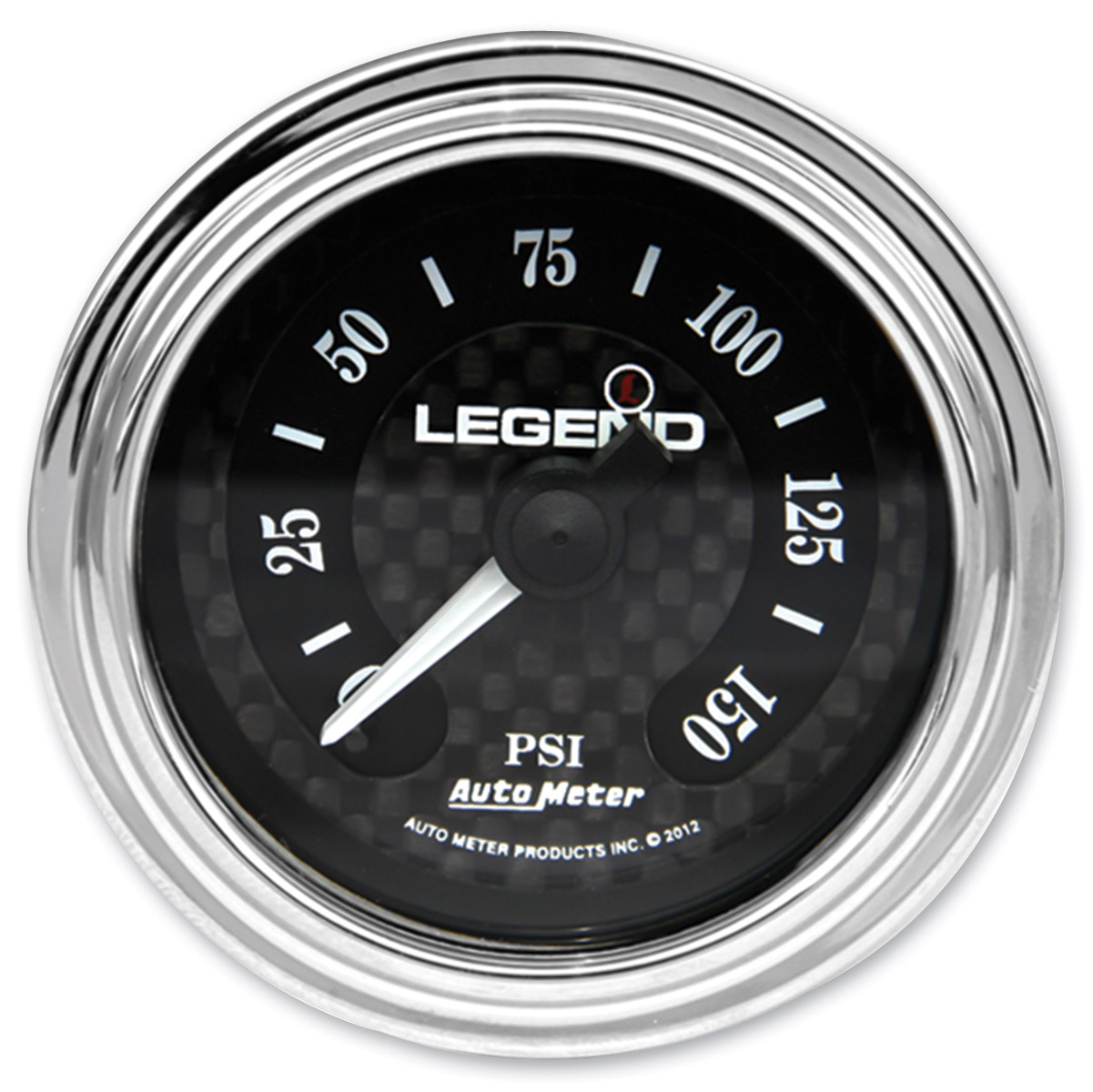 Legend Suspension LED Backlit Air Gauge - Diamond Cut