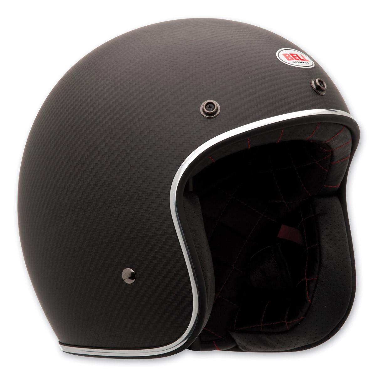 Bell Custom 500 Matte Carbon Open Face Helmet