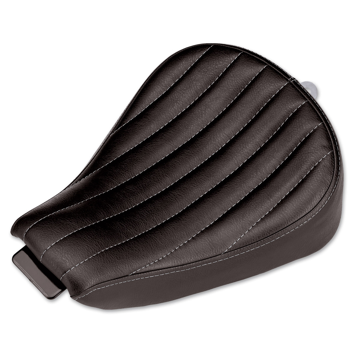 Biltwell Inc. Vertical Tuck and Roll Sporty-8 Solo Seat