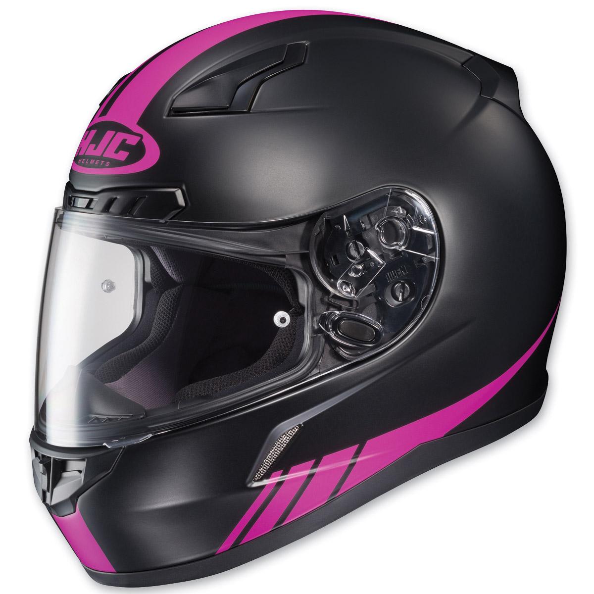 HJC CL-17 Streamline Black/Pink Full Face Helmet