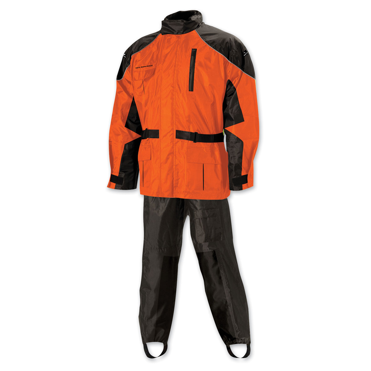 Nelson-Rigg AS-3000 Aston Hi-Viz Orange Rain Suit