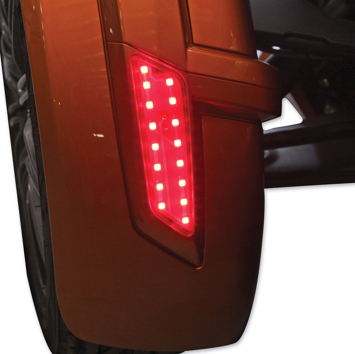 Custom Dynamics Red Long BRIGHTSIDES LED Lights