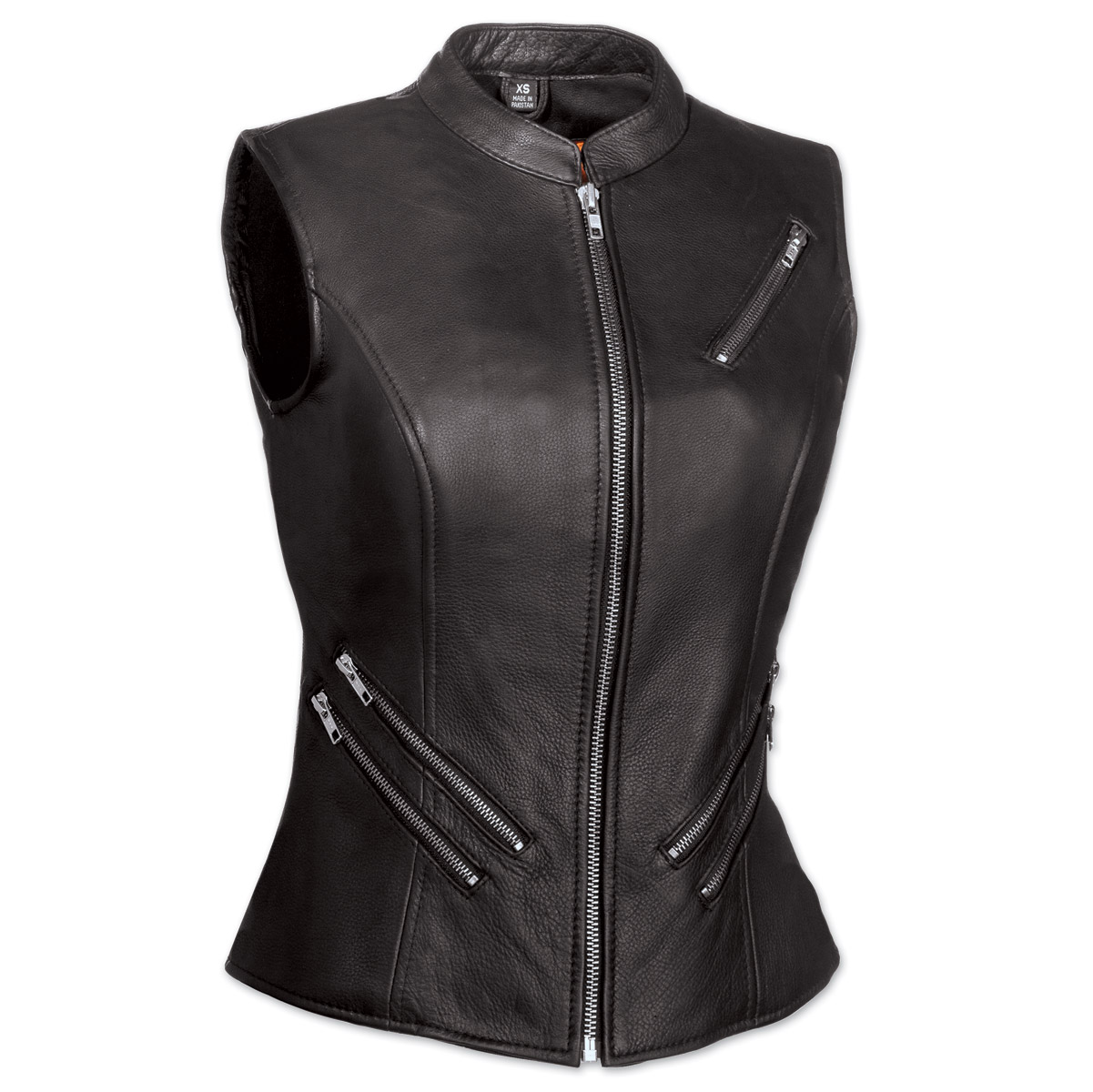 First Manufacturing Co. The Fairmont Ladies Black Vest