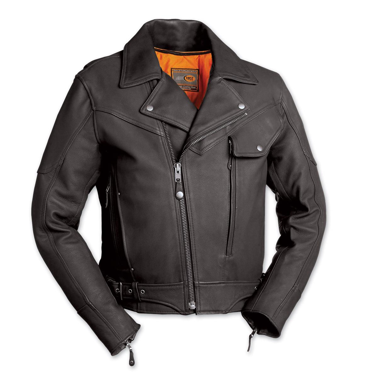 First Manufacturing Co. Major Ego Men's Black Leather ...