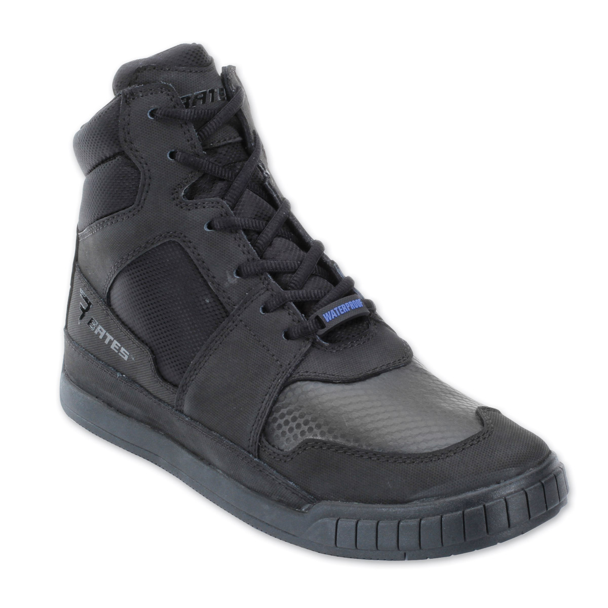 Bates Men's Marauder Black Leather/Nylon Boots