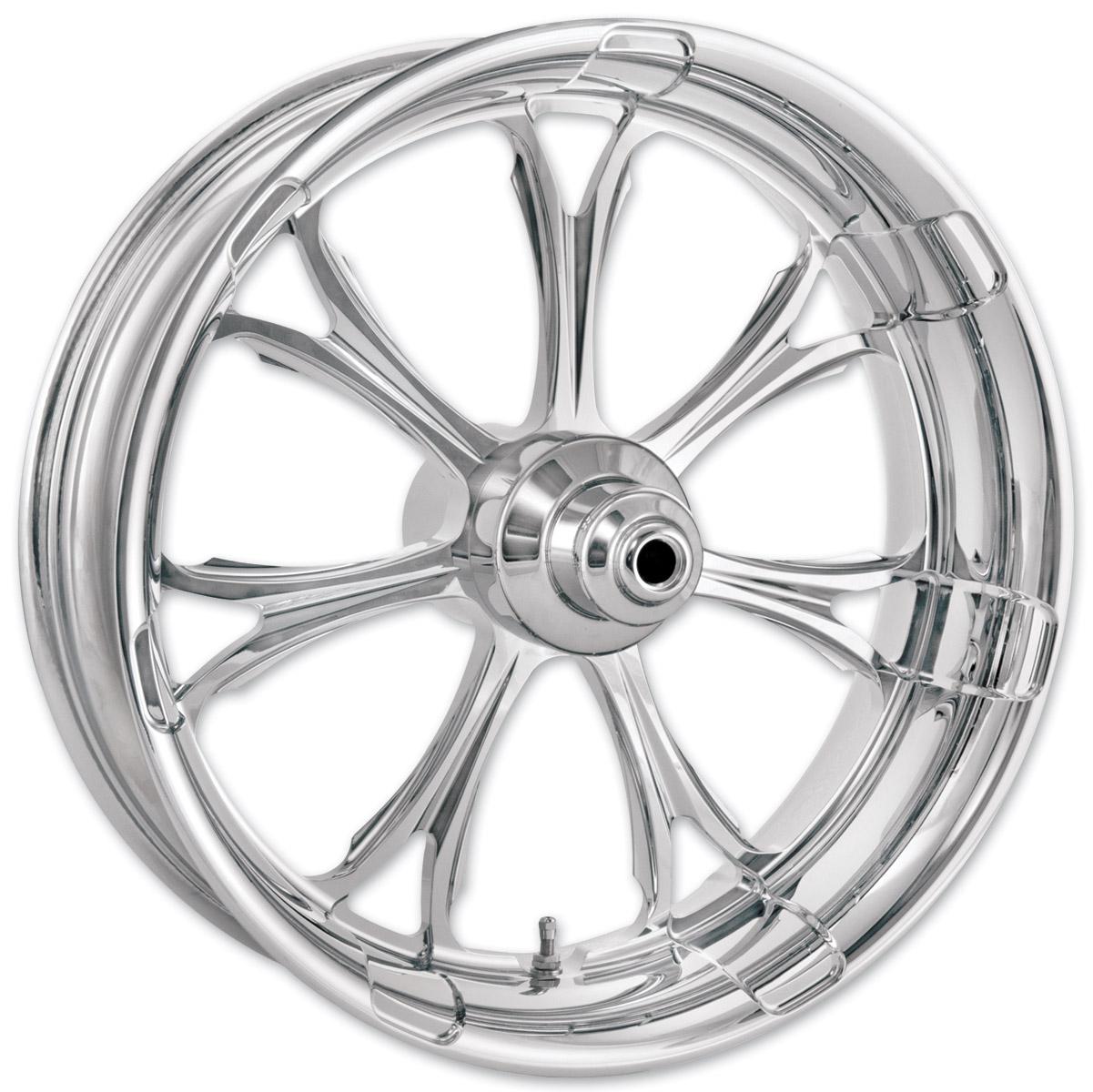 Performance Machine Paramount Chrome Front Wheel, 21″ X 2.15″