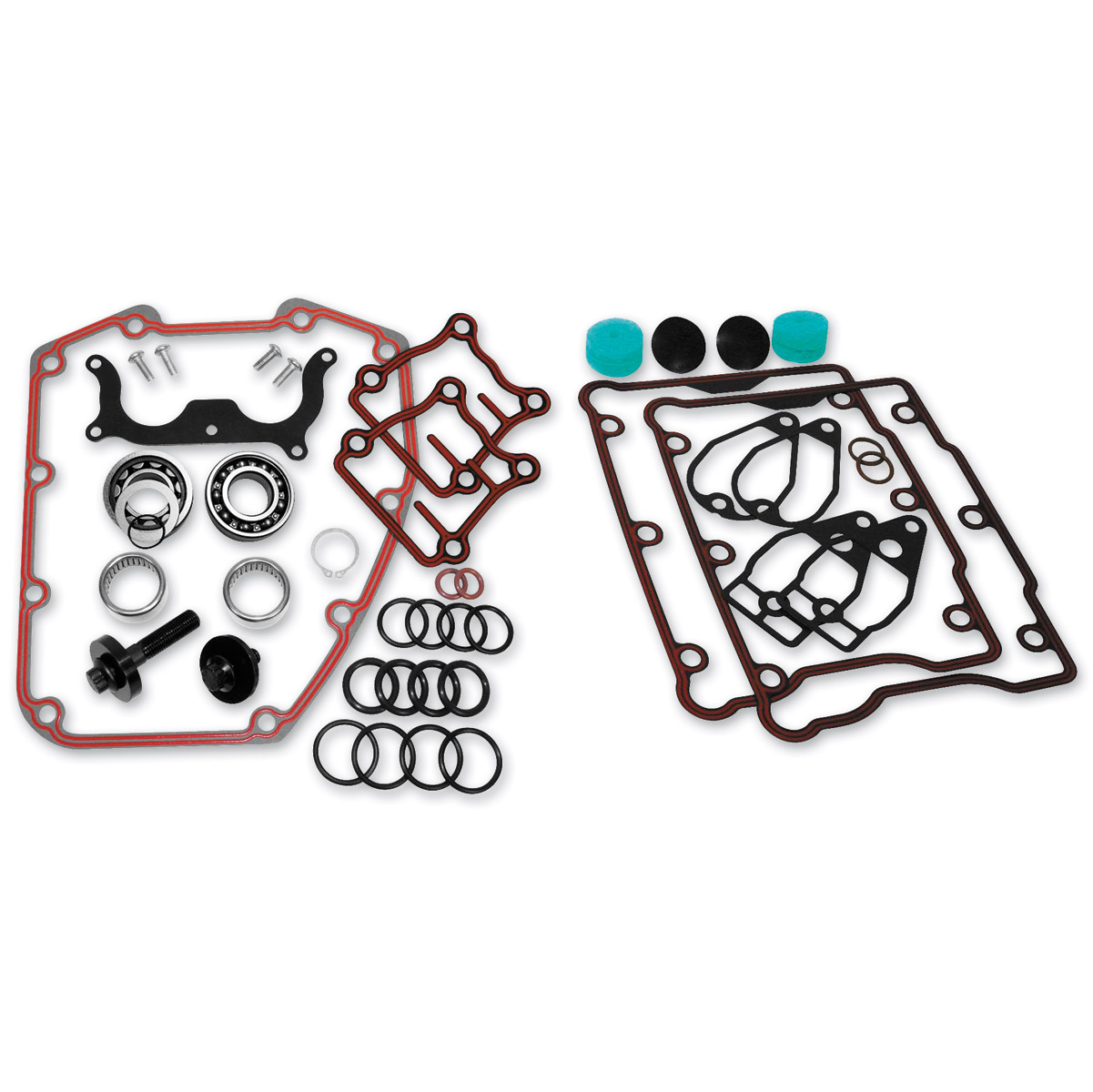 Feuling Chain Drive Camshaft Install Plus Kit for Twin Cam