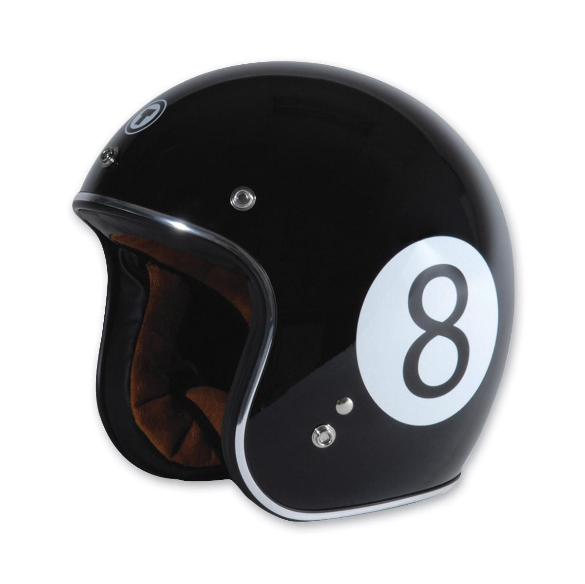 Torc T50 Baller Black Open Face Helmet