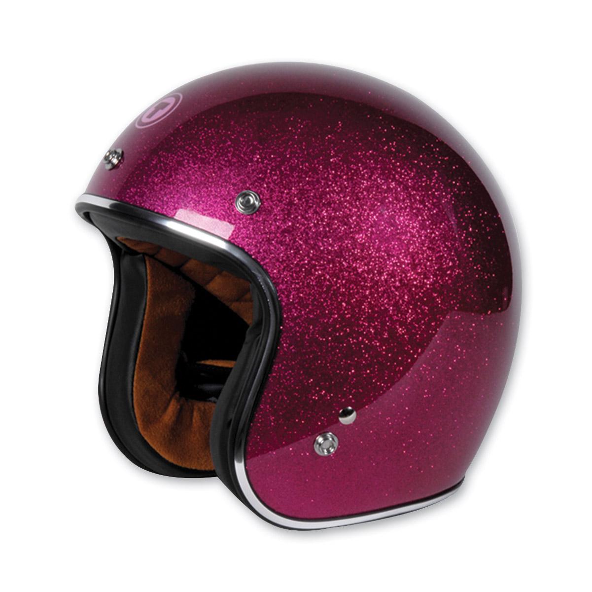 Torc T50 Bubble Gum Flake Open Face Helmet