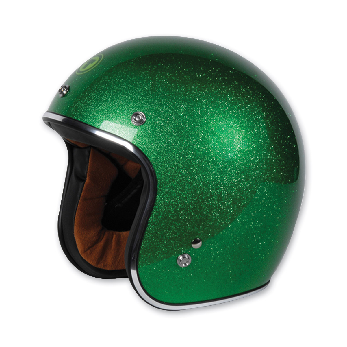 Torc T50 Lime Cycle Flake Open Face Helmet
