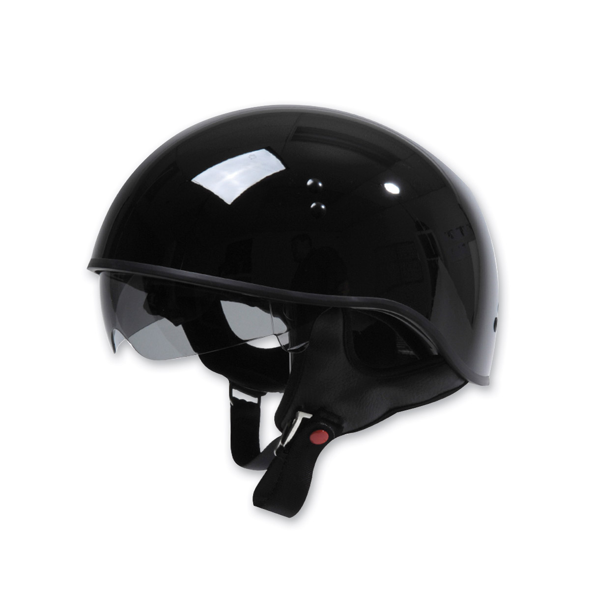 Torc T55 Gloss Black Half Helmet