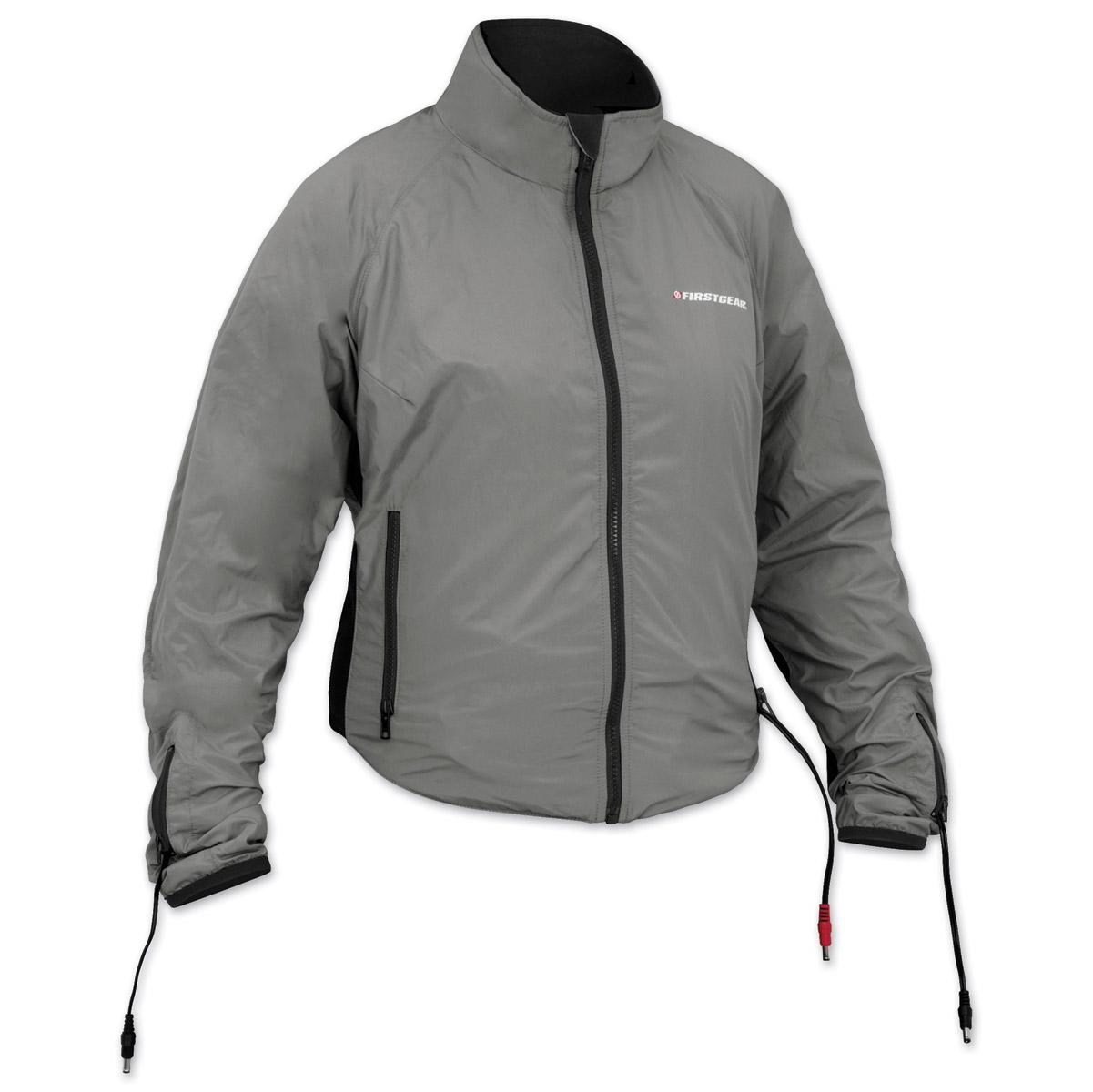 Firstgear 90-Watt Warm and Safe Women's Grey Heated Jacket Liner