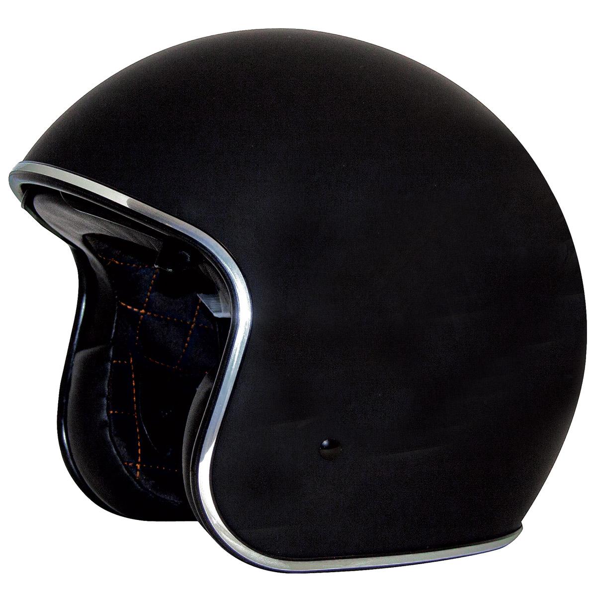 Zox Route 80 DDV Gloss Black Open Face Helmet