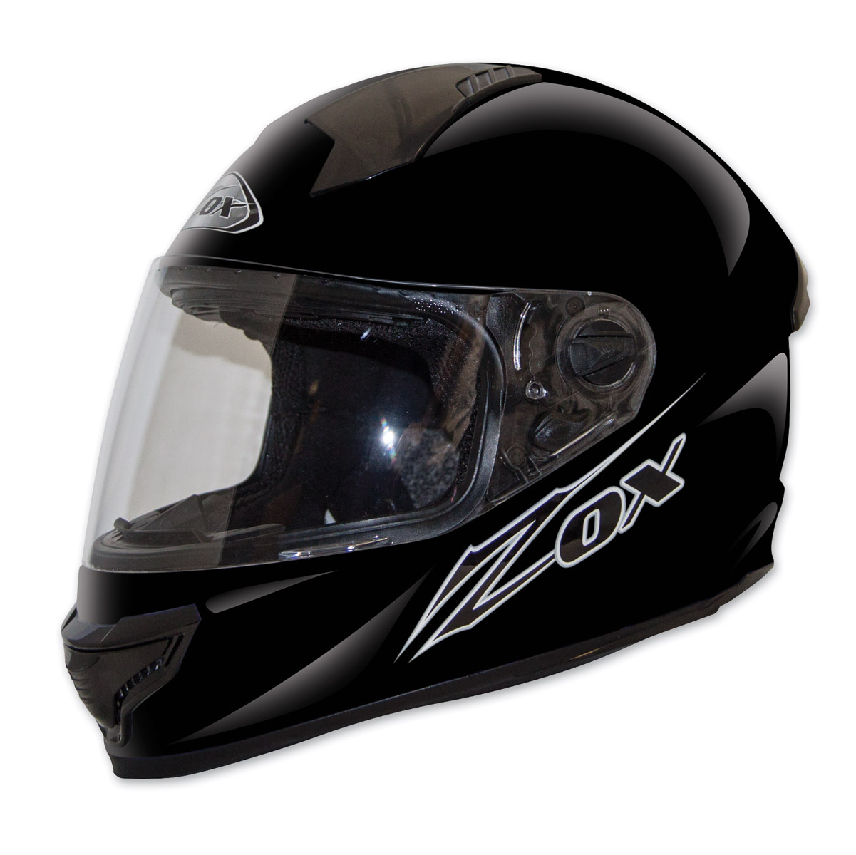 Zox Primo Junior Gloss Black Full Face Helmet