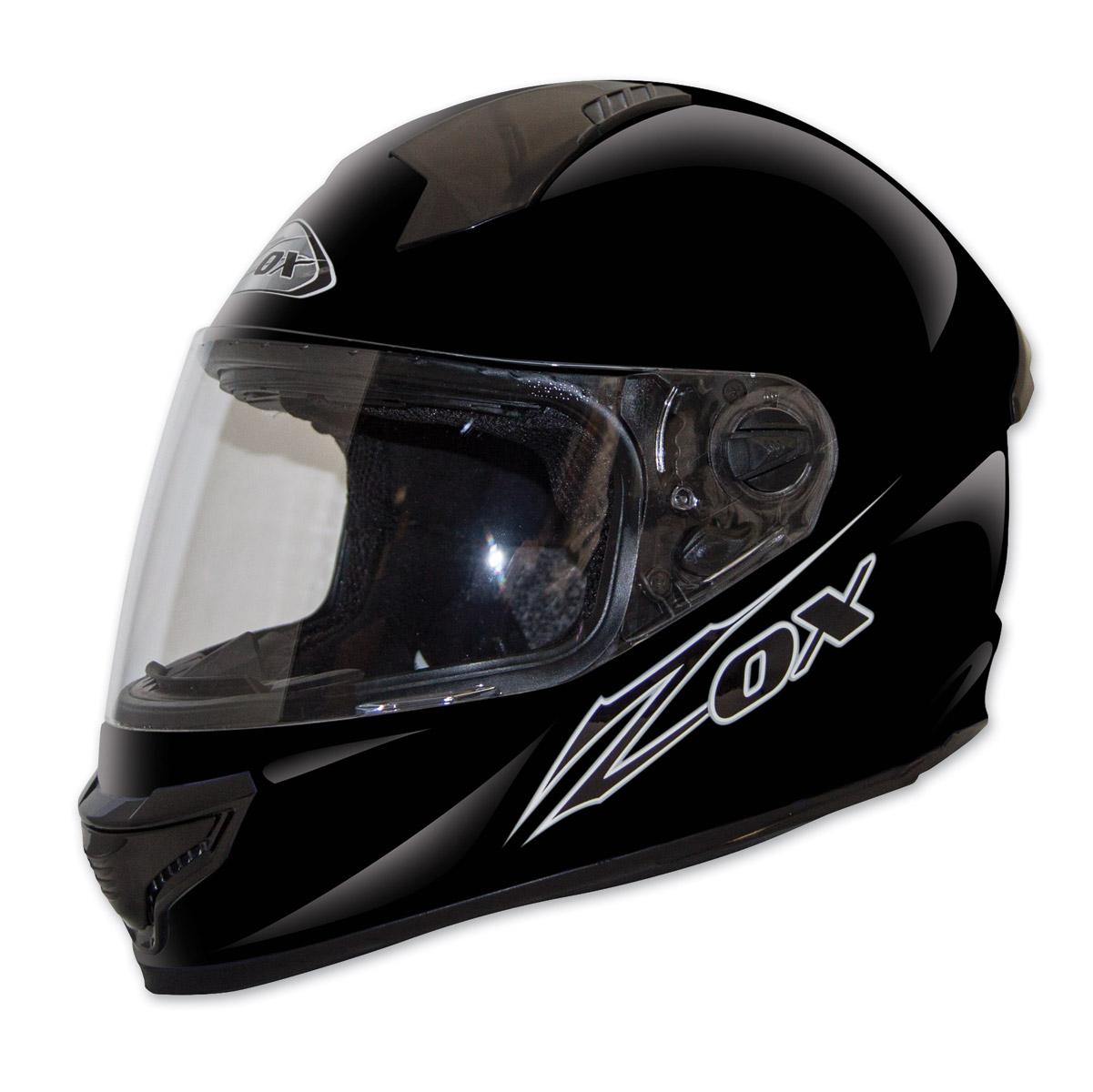 Zox Primo Junior Matte Black Full Face Helmet