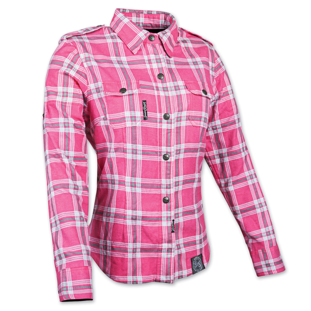 Women's Smokin' Aces Pink/White Flannel Jacket