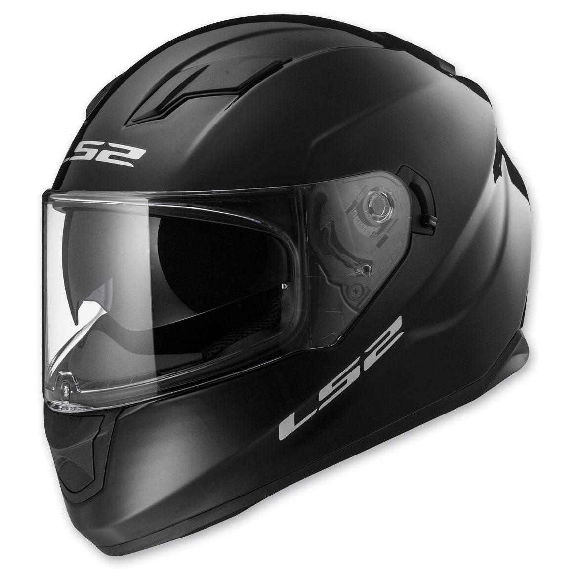 LS2 Stream Gloss Black Full Face Helmet