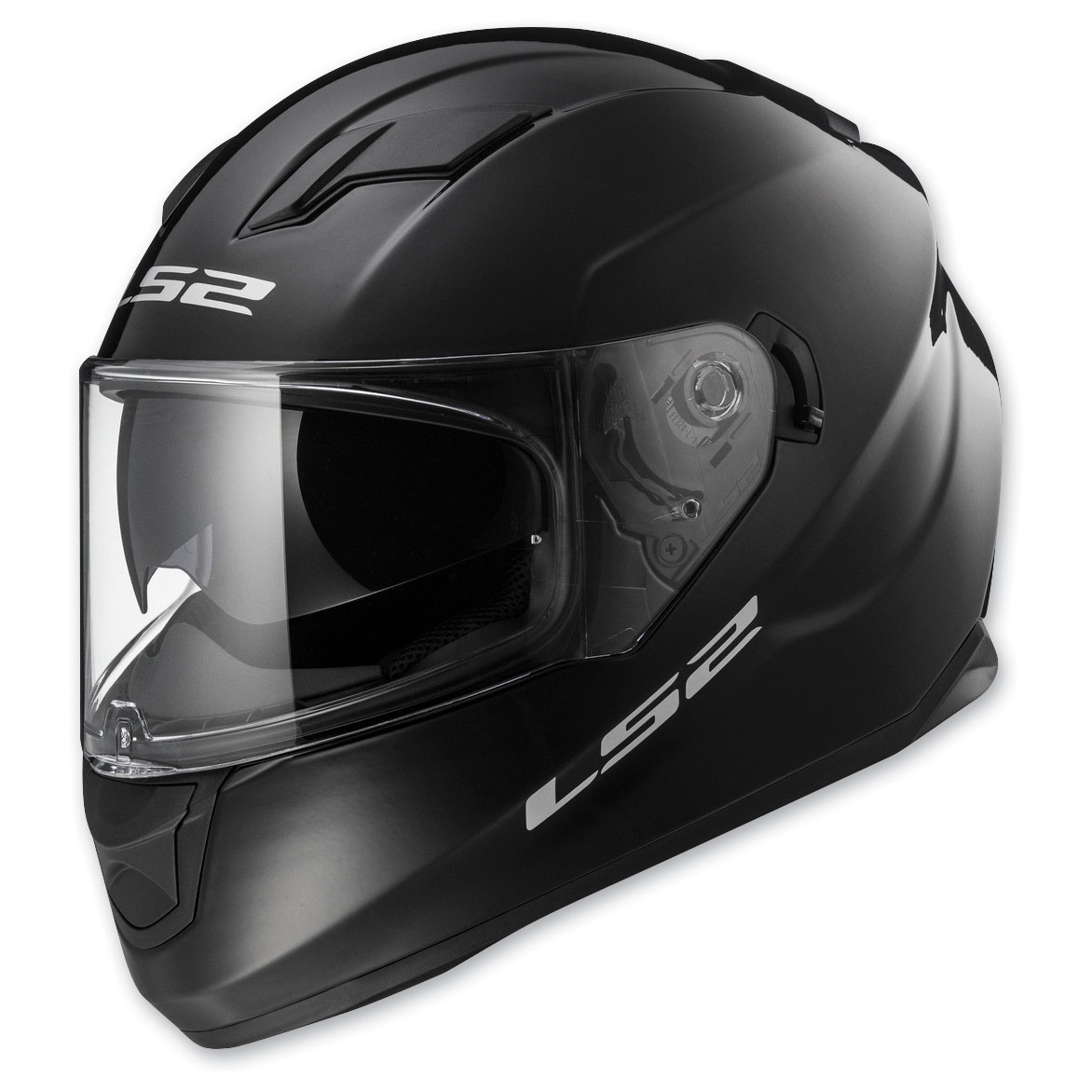 LS2 Stream Gloss Black Full Face Helmet