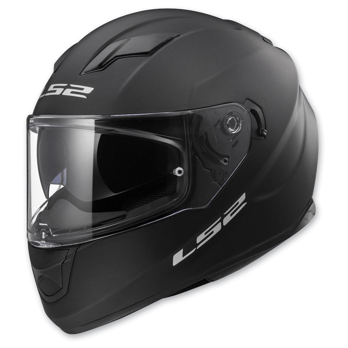 LS2 Stream Matte Black Full Face Helmet