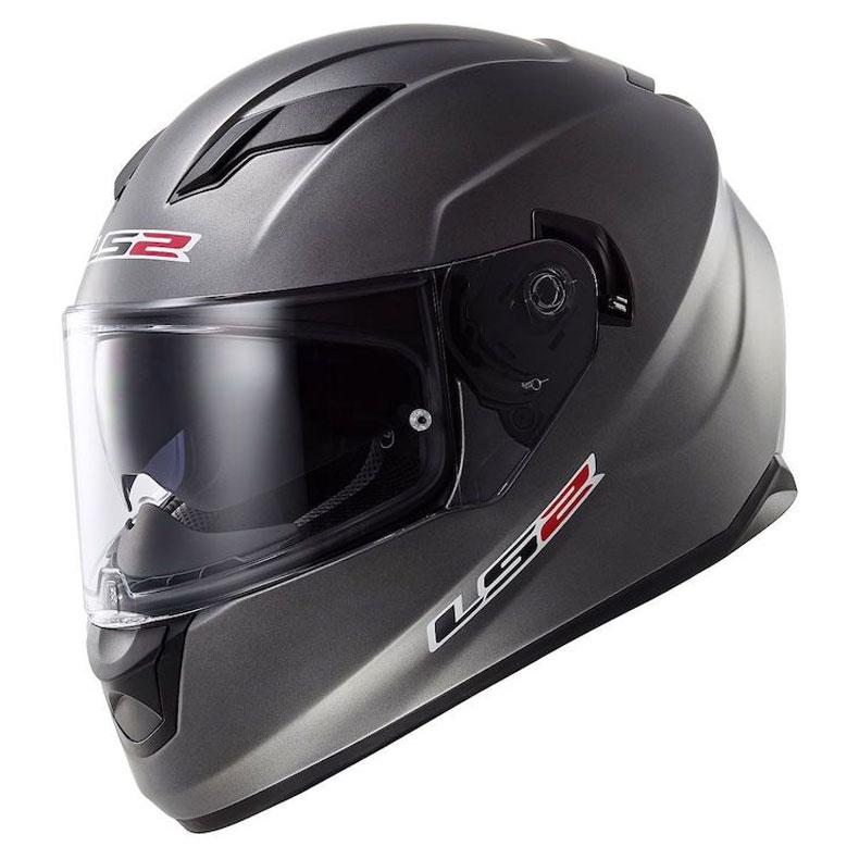 LS2 Stream Silver Full Face Helmet