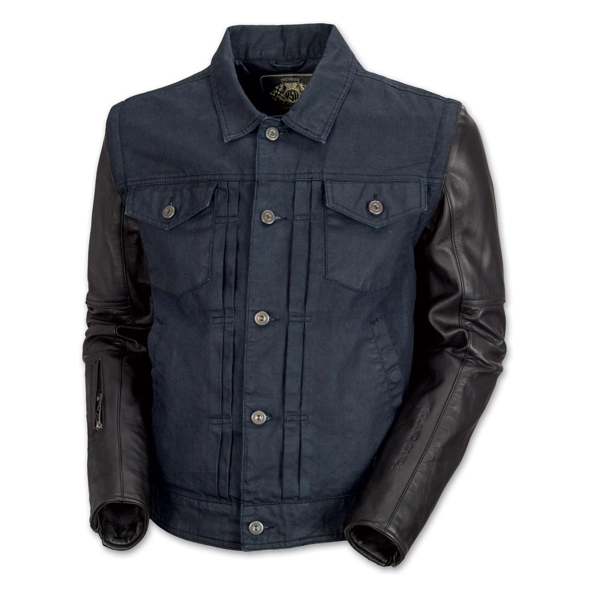 Roland Sands Design Honcho Men's Denim/Leather Jacket | 178-015 ...