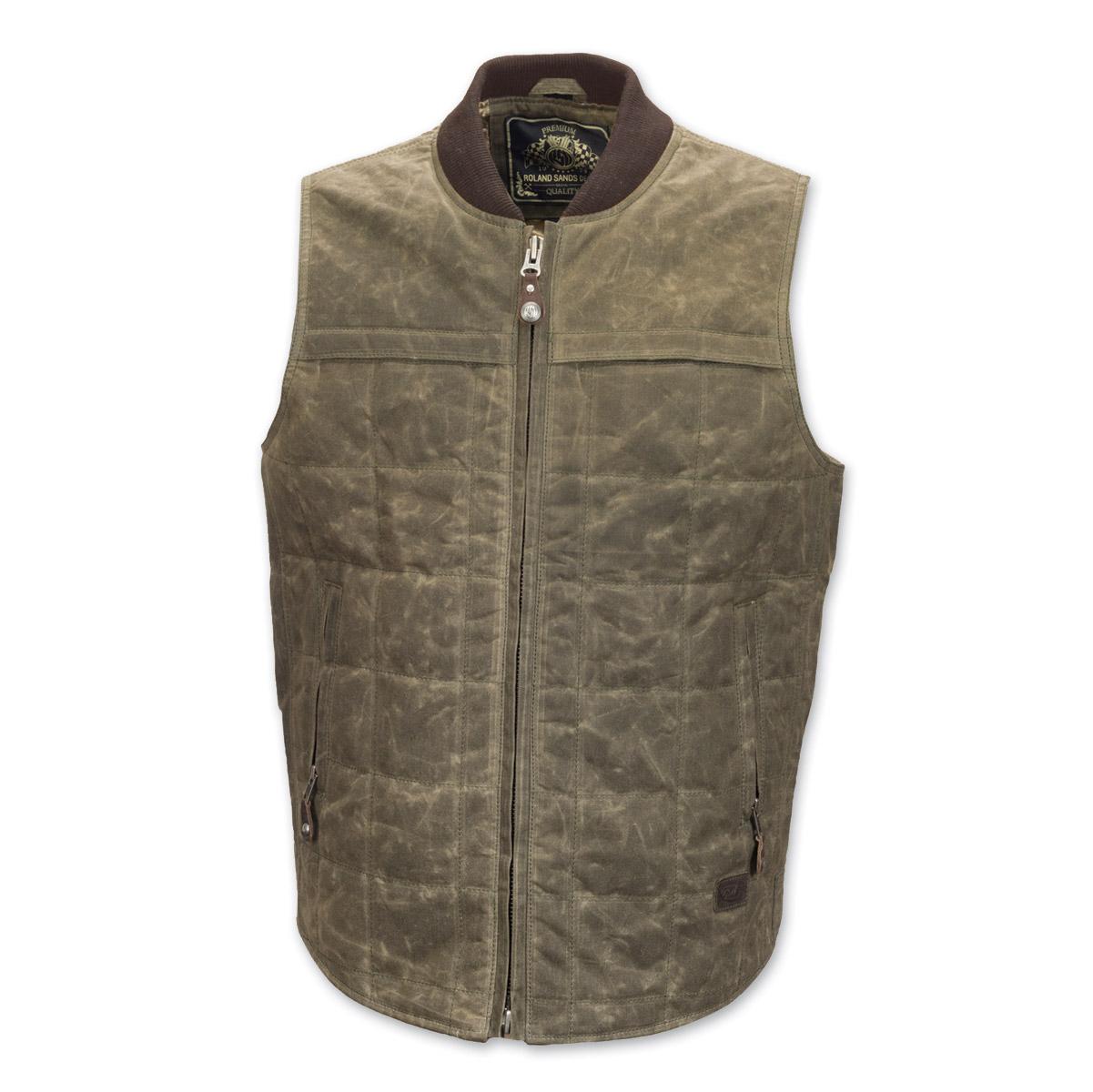 Roland Sands Design Ringo Men's Ranger Waxed Cotton Vest