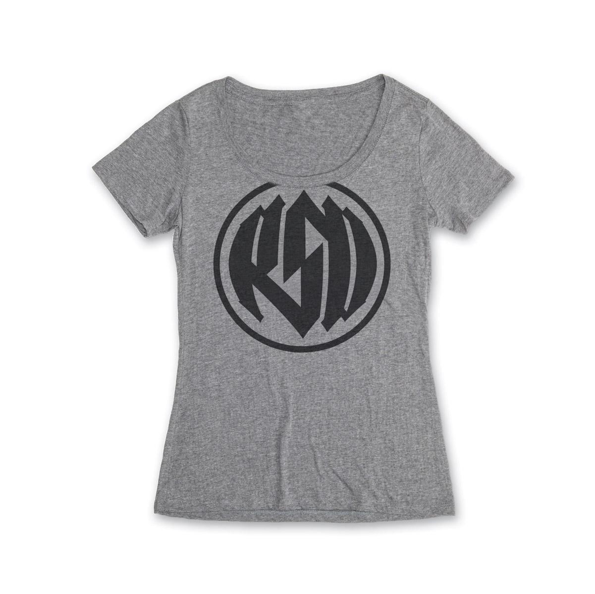 Roland Sands Design Logo Women's Scoop Neck Platinum T-Shirt