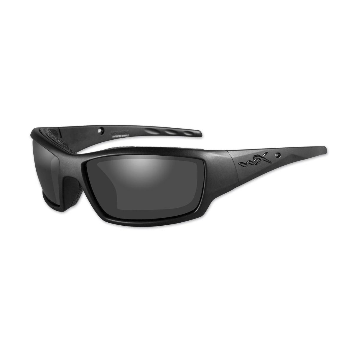 Wiley X WX Tide Gloss Black Frame w/Smoke Grey Lens Sunglasses