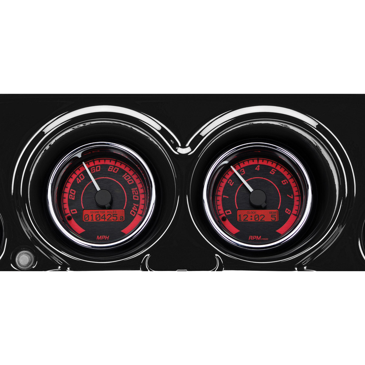 Dakota Digital MVX Two-Gauge Speedometer and Tachometer Kit