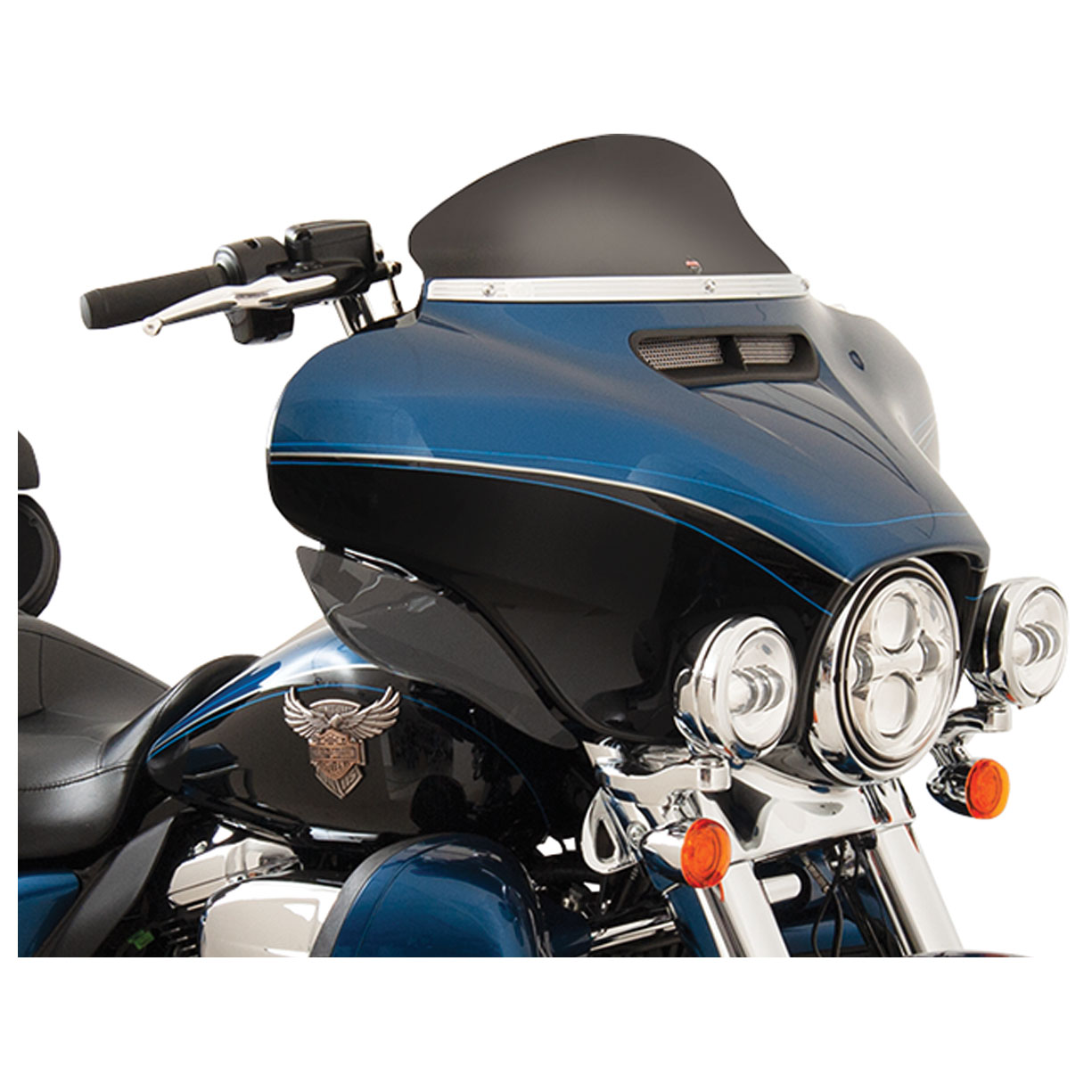 Klock Werks 5 Black Flare Windshield 2310-0571