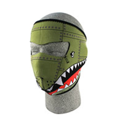 ZAN headgear Neoprene Bomber Face Mask