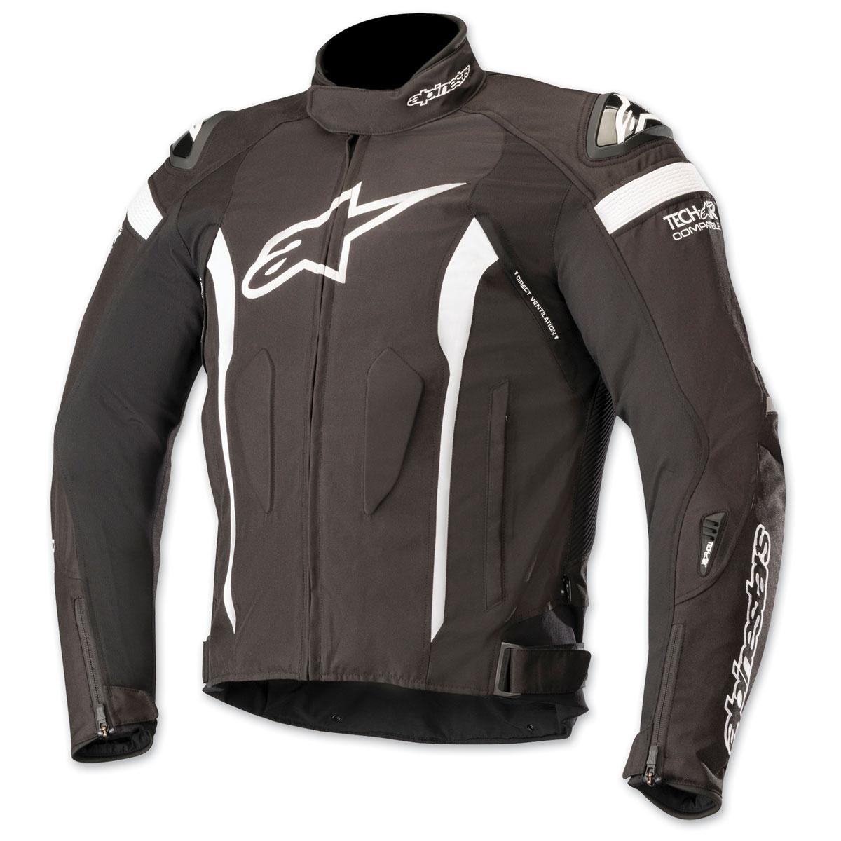 Alpinestars Men's T-Missile Drystar Black/White Textile Jacket