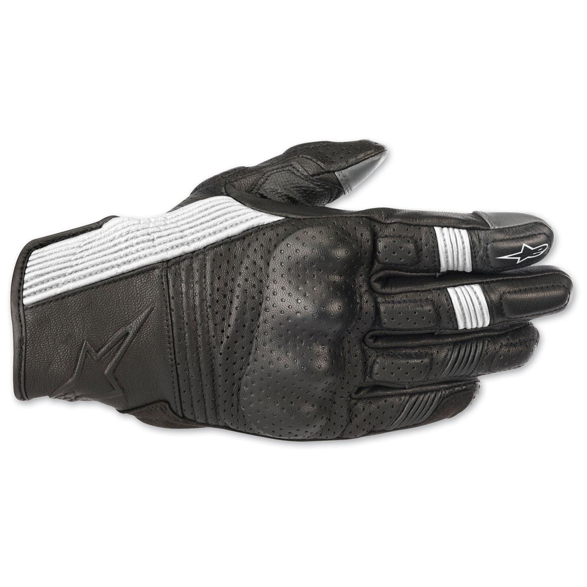 Alpinestars Men's Mustang v2 Black/White Gloves