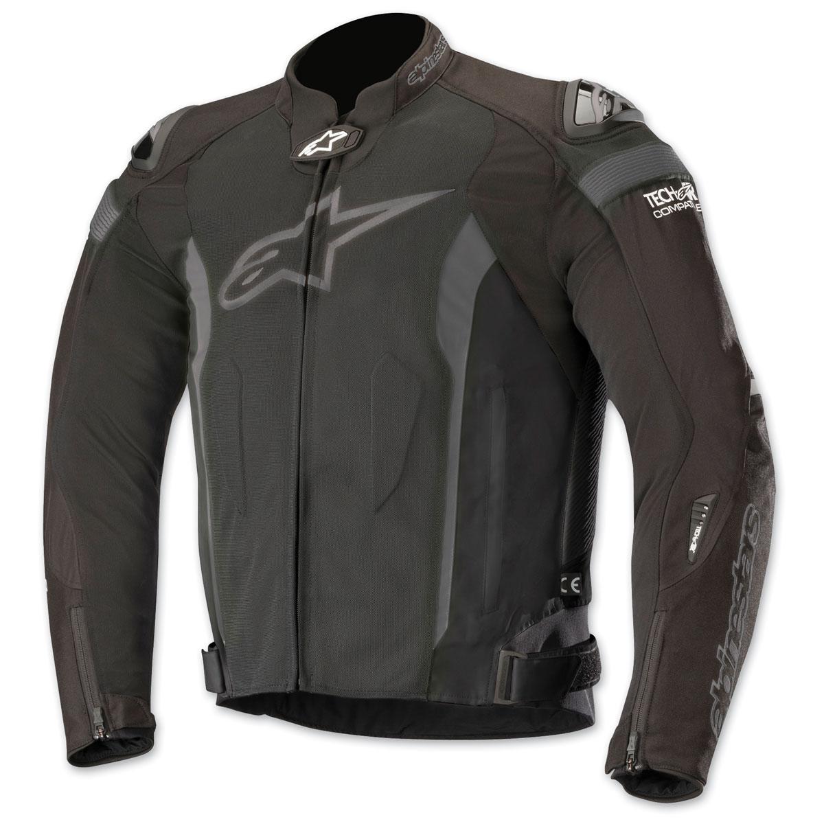 Alpinestars Men's T-Missile Air Black/Black Textile Jacket