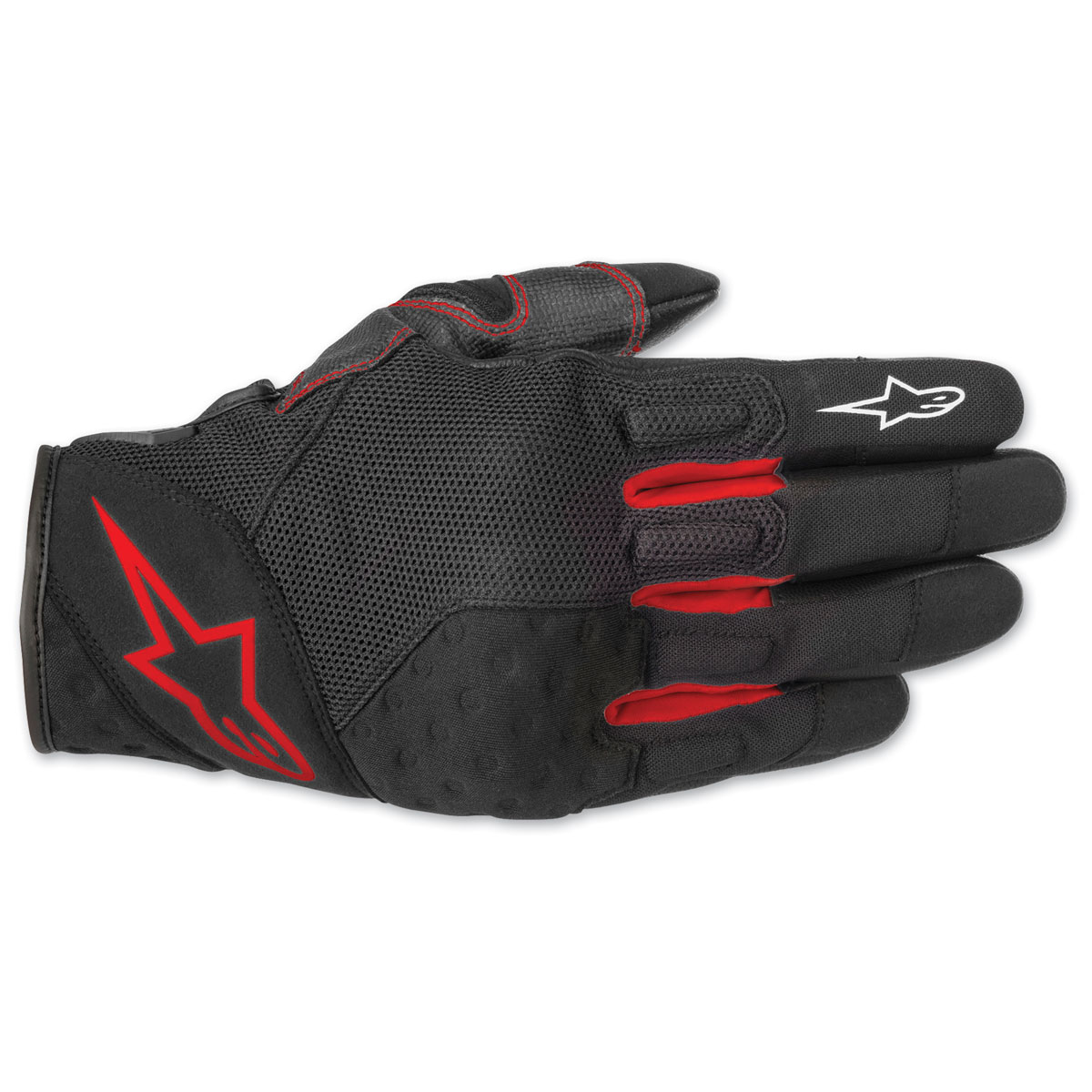 Alpinestars Men's Kinetic Black/Red Gloves