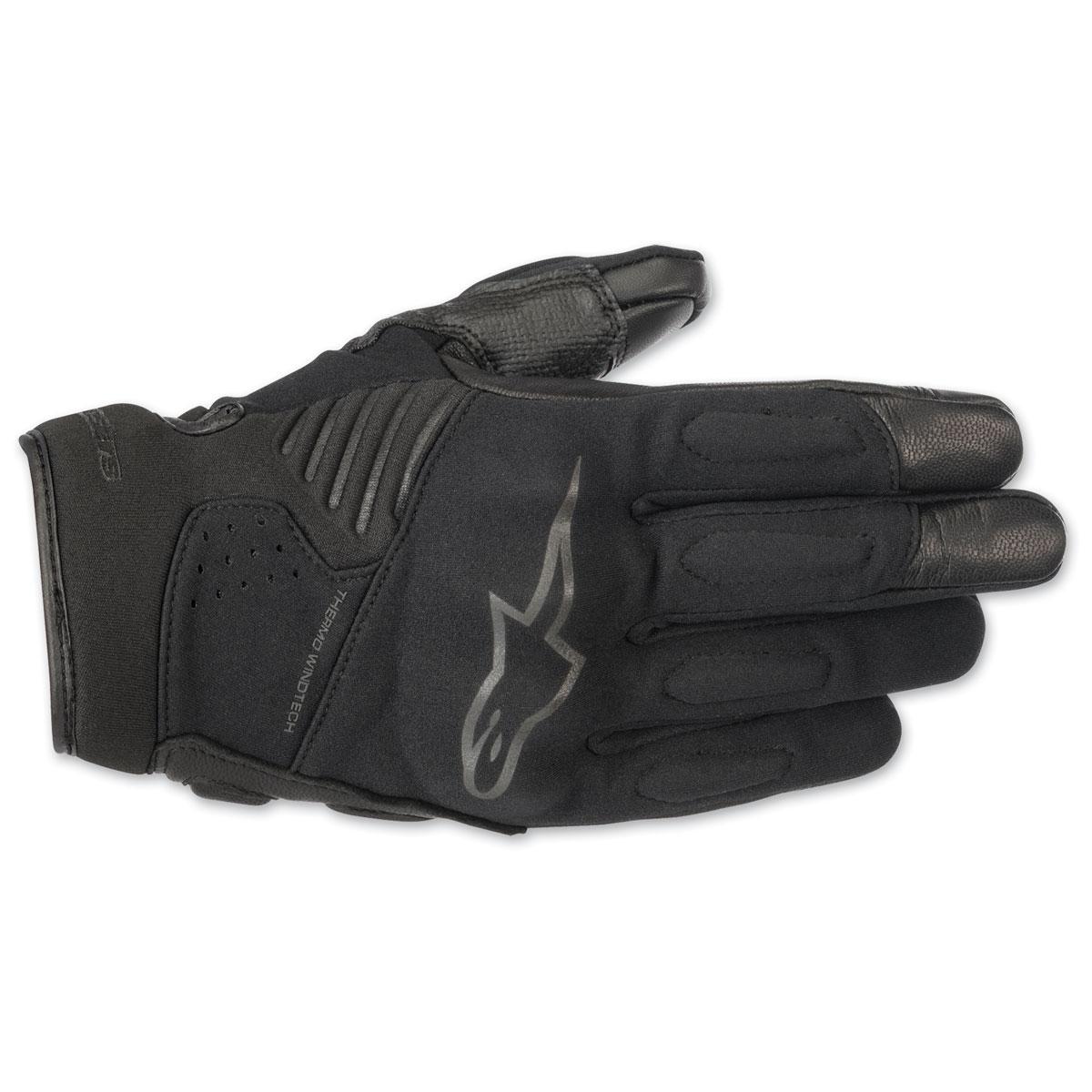 Alpinestars Men's Faster Black/Black Gloves