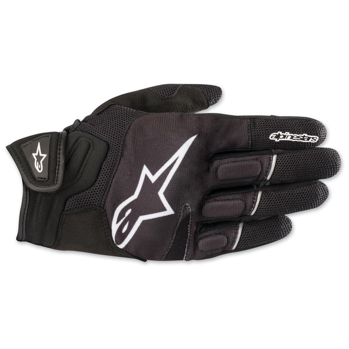 Alpinestars Men's Atom Black/White Gloves