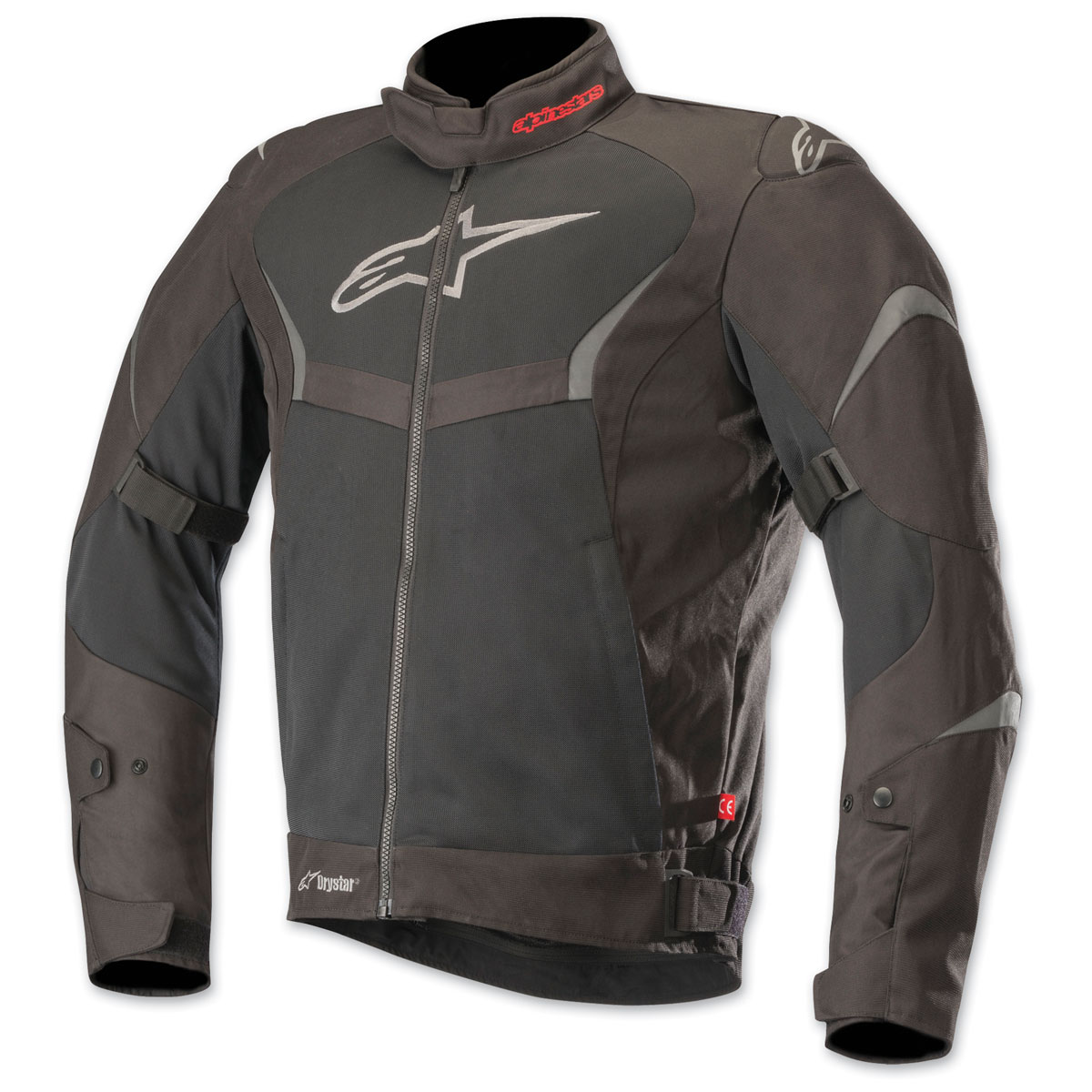 Alpinestars Men's T-Core Drystar Black/Black Textile Jacket