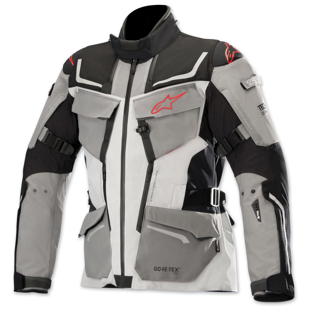Alpinestars Men's Tech Air Street Compatible Revenant Black/Gray/Red Jacket