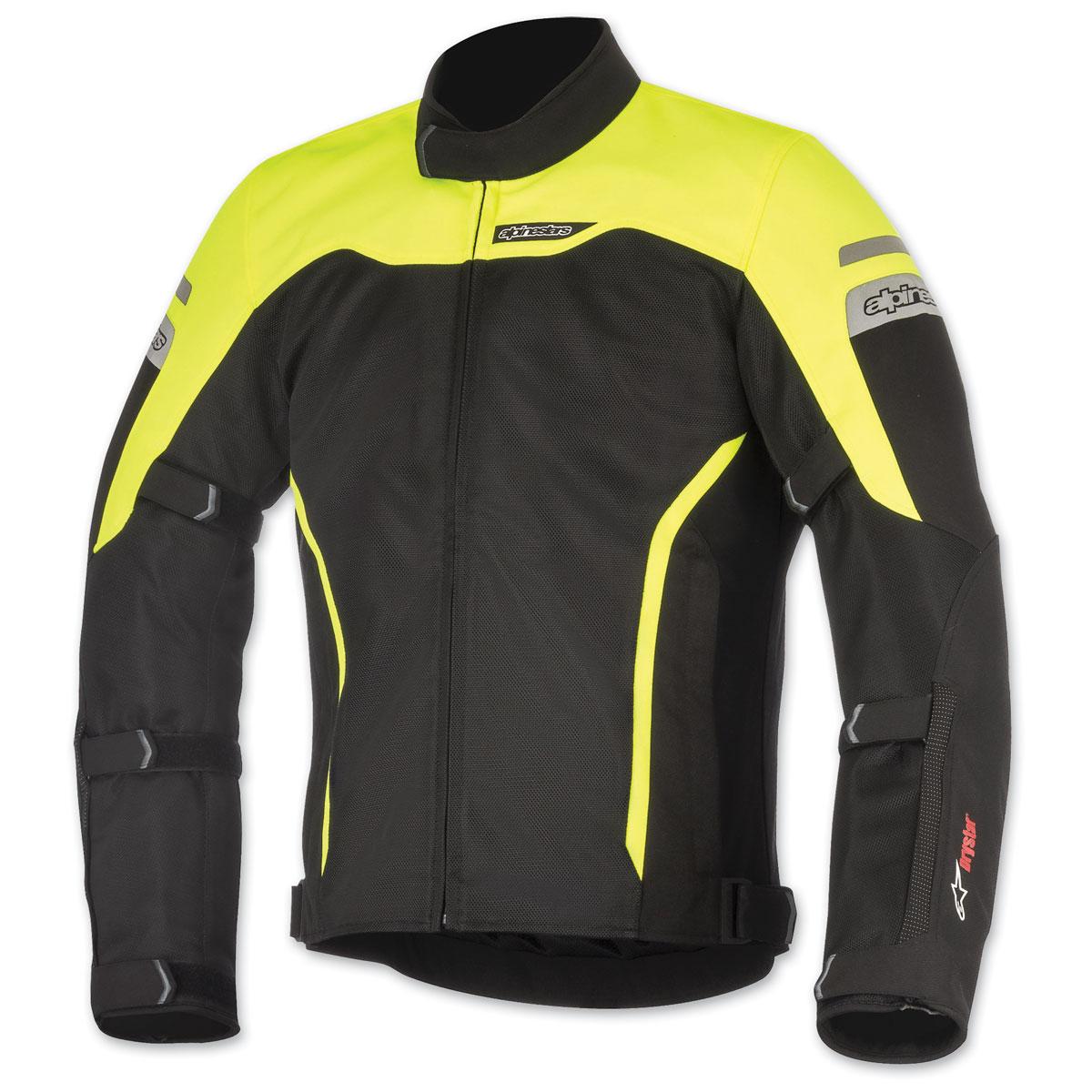 Alpinestars Men's Leonis Drystar Black/Yellow Jacket