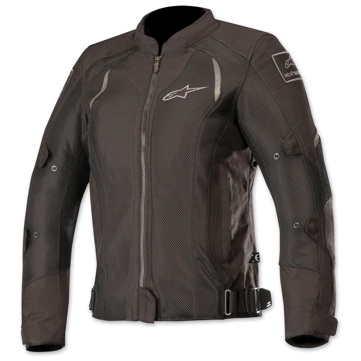 Alpinestars Women's Stella Wake Air Black/Black Textile Jacket
