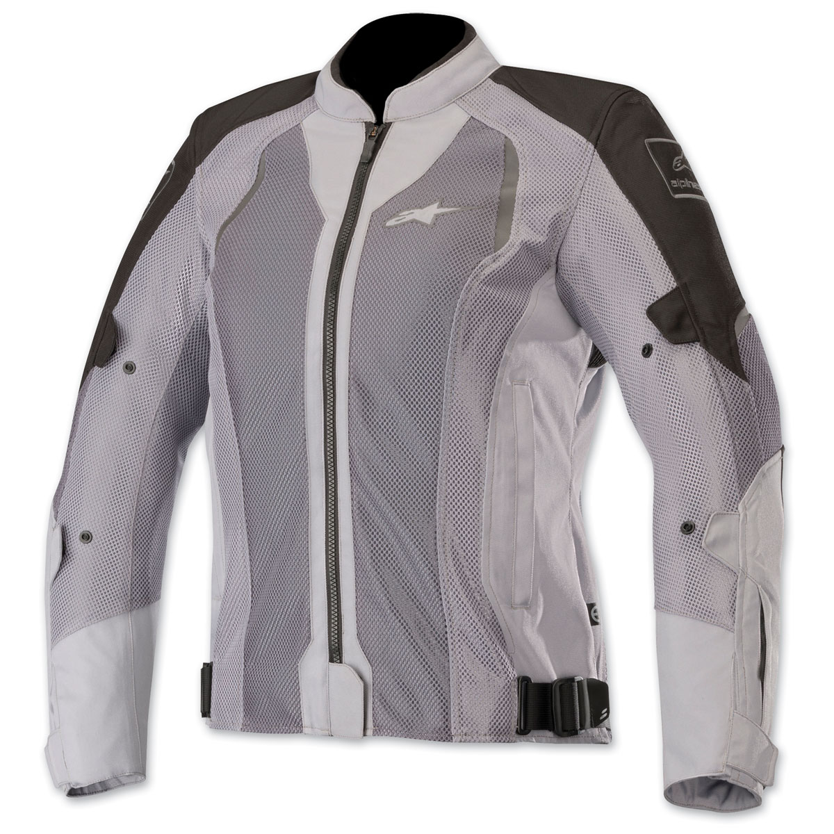 Alpinestars Women's Stella Wake Air Black/Gray Textile Jacket