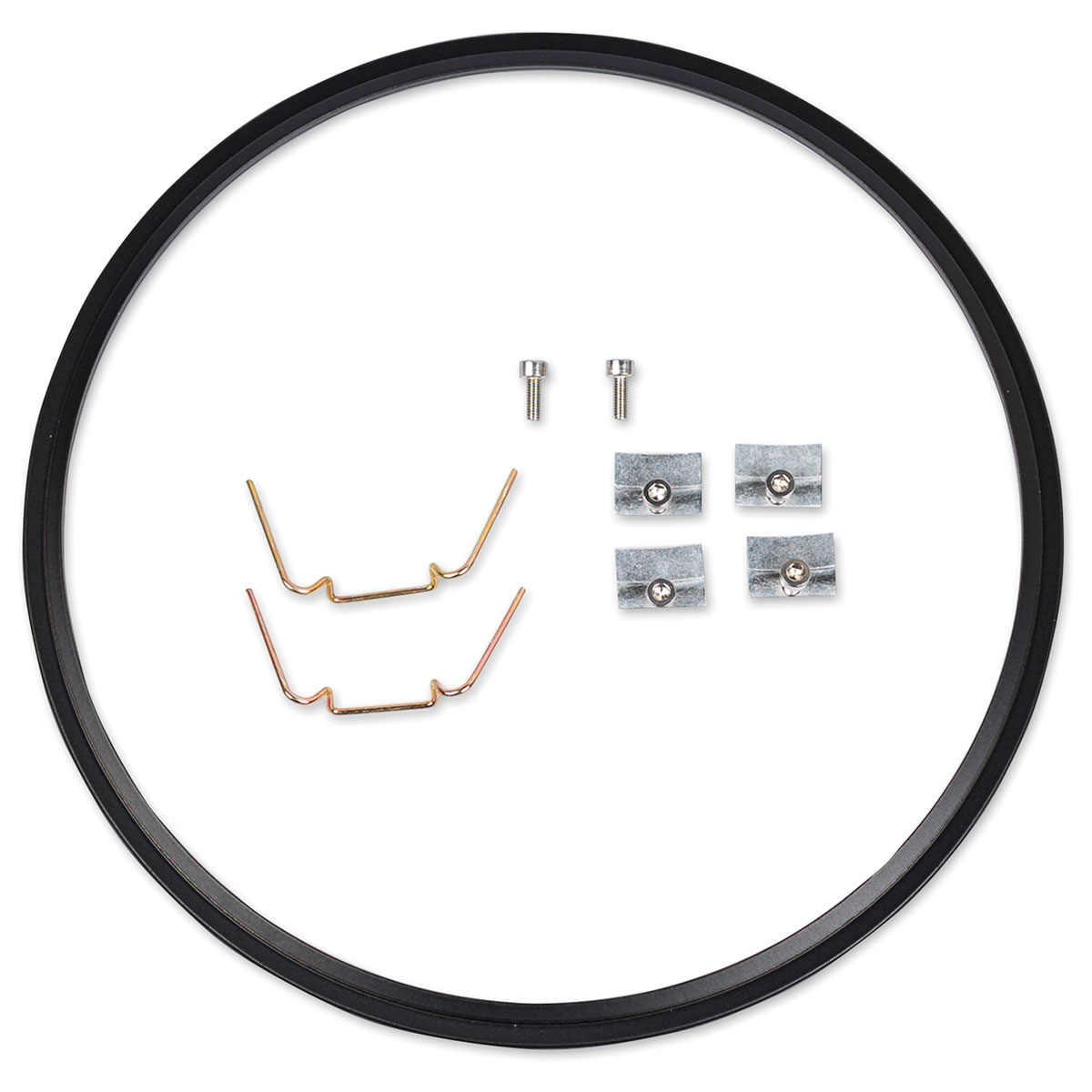 J.W. Speaker 7″ Black Headlight Adapter Kit