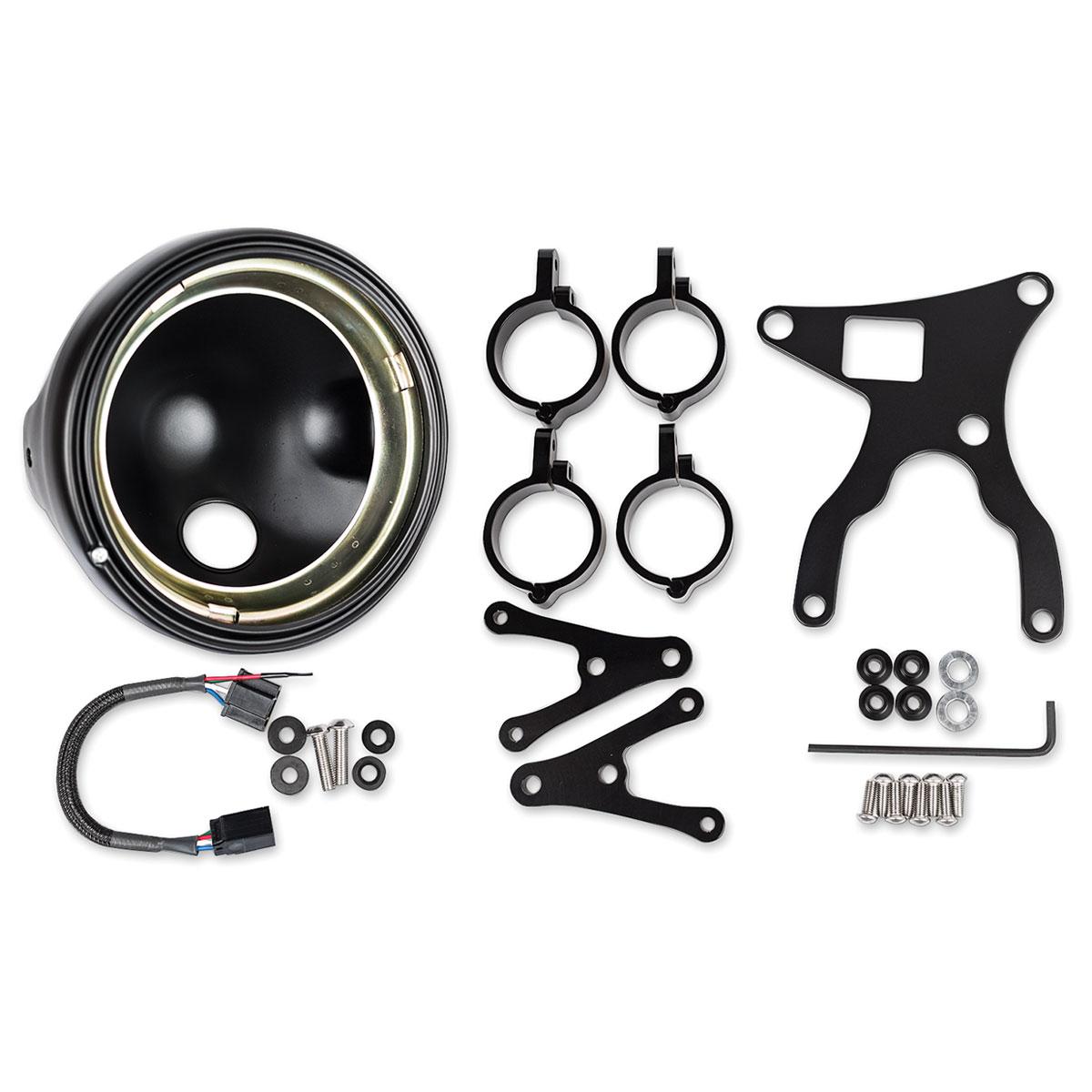 J.W. Speaker 7″ Black Headlight Conversion Kit