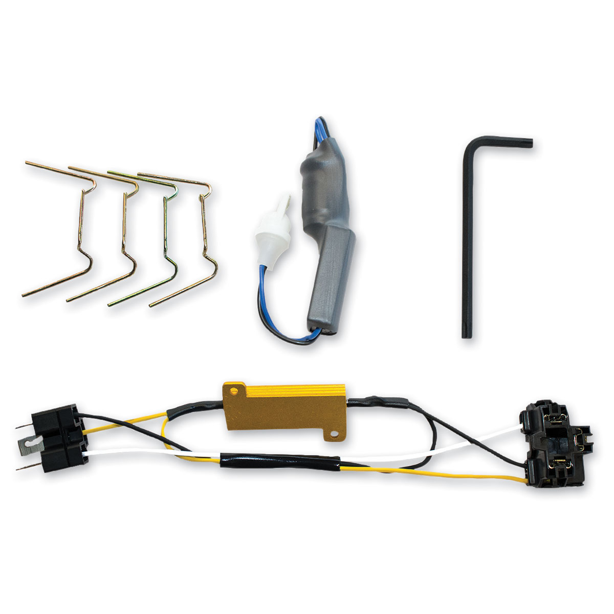 J.W. Speaker Headlight Installation Kit Wiring Harness - 0703571 on