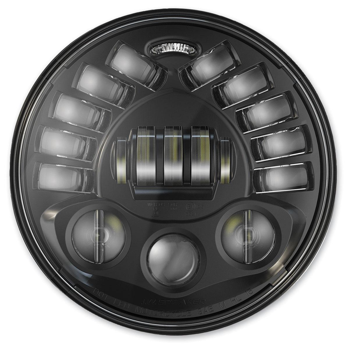 J.W. Speaker 7″ Pedestal Mount LED Adaptive Headlight Black