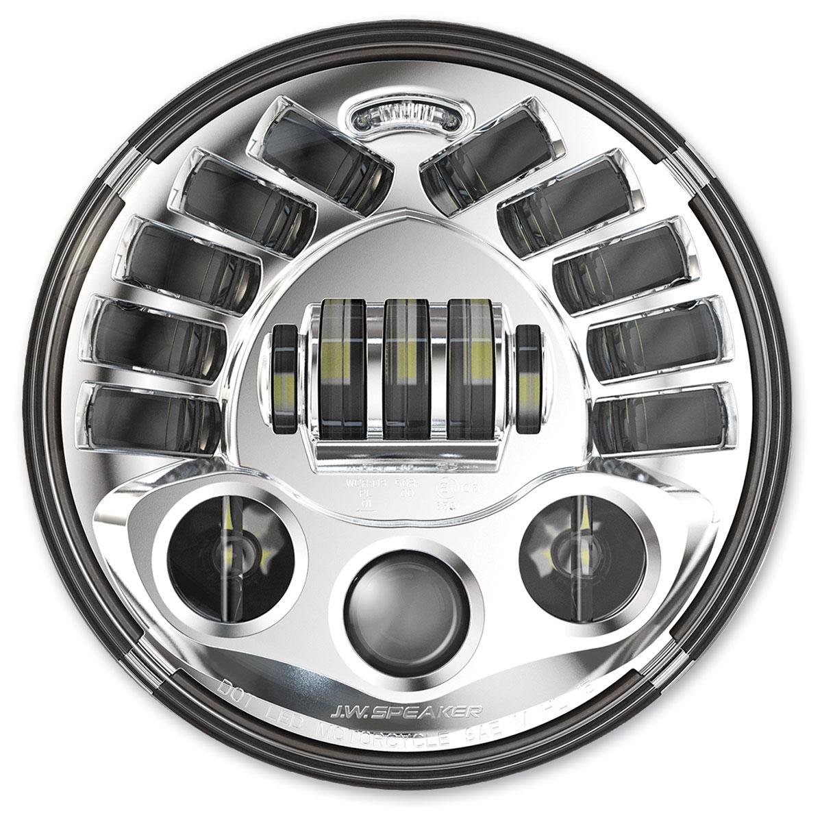 J.W. Speaker 7″ LED Headlight Chrome