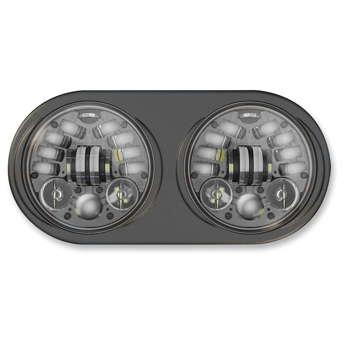 J.W. Speaker Dual LED Adaptive Headlight Black