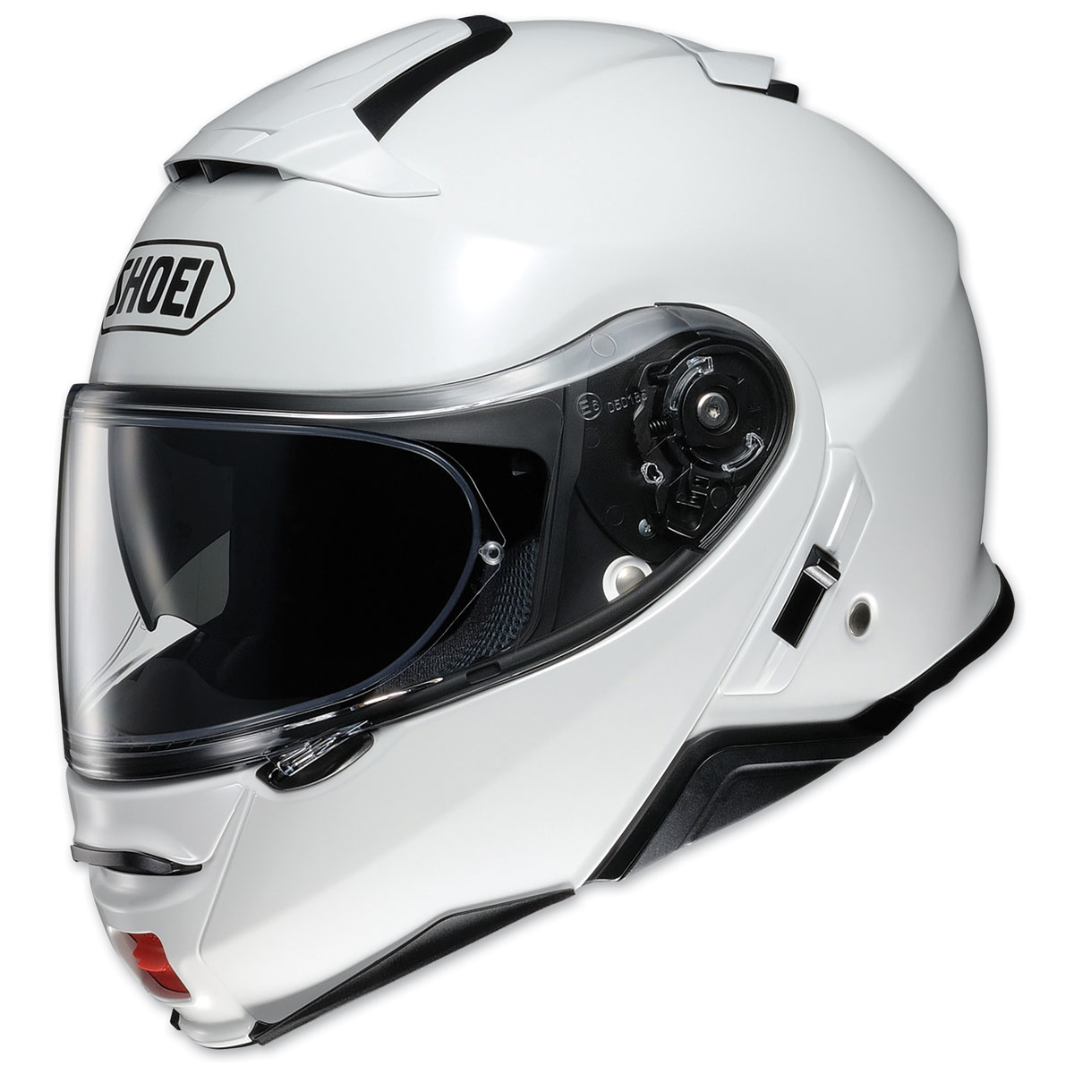56a90cfb Shoei Neotec II Gloss White Modular Helmet - 77-11861 | JPCycles.com