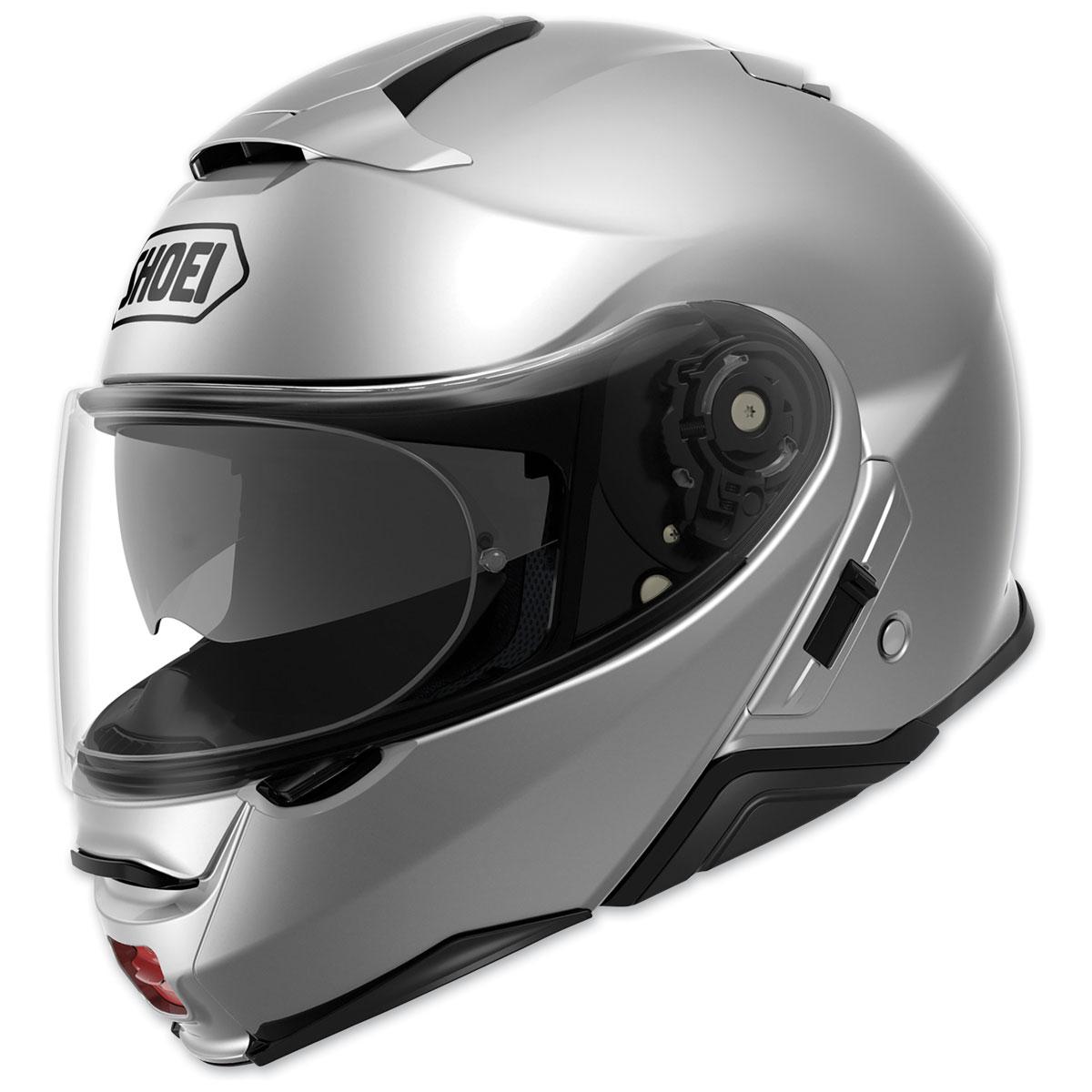 Shoei Neotec II Light Silver Modular Helmet